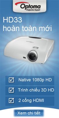 Máy chiết optoma HD